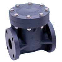 Asahi/America Swing Check Valves: Automatic - PVC \ EPDM