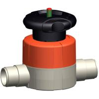 Type 515 Diaphragm Valve: EPDM with Socket Fusion ends