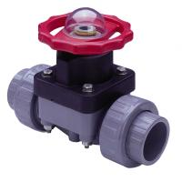 Spears Diaphragm Valves: Manually Actuated - CPVC \ FKM