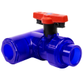 Ball Valve: T-Style - Socket with EPDM O-Ring Seal