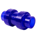 Ball Check Valve: Dual Ends with EPDM O-Ring Seal